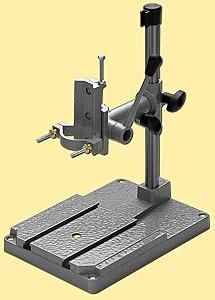 Bohrständer Ganzmetall mit Befestigung für Maschinenschraubstock  - für viele Kleinbohrmaschinen geeignet | günstig bestellen bei Weinert-Bauteile