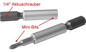 Adapter: Einsatz für handelsübliche Akkuschrauber 1-4  - verwenden Sie Ihren Akkuschrauber für die Modellbahn! | günstig bestellen bei Weinert-Bauteile