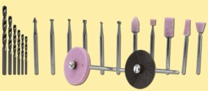 Bohr - und Schleifsatz 19-tlg.   | günstig bestellen bei Weinert-Bauteile