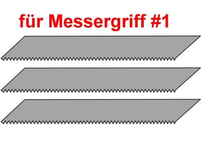 Sägeklingen für Bestelmesser mit Griff #1, 3 Stück  | günstig bestellen bei Weinert-Bauteile