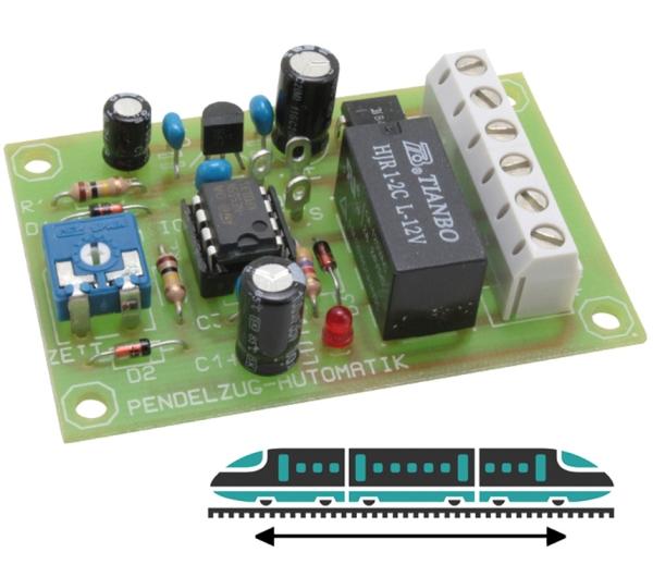 Pendelzugsteuerung für Gleichstrom-Bahnen - 12 Volt DV  | günstig bestellen bei Weinert-Bauteile