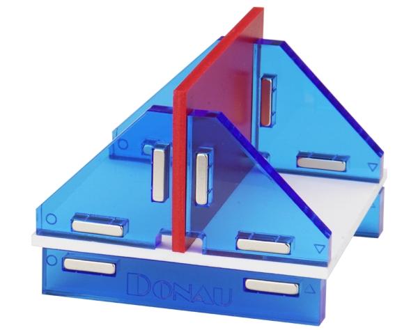 Modellbau Winkelset für 180° T-Verbindungen, magnetisch  - Lieferung mit praktischer Aufbewahrungsbox | günstig bestellen bei Weinert-Bauteile