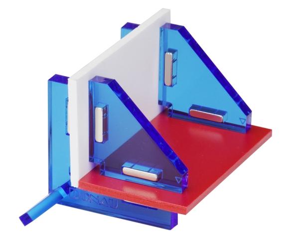 Modellbau Winkelset für 90° Verbindungen, magnetisch  - Lieferung mit praktischer Aufbewahrungsbox | günstig bestellen bei Weinert-Bauteile