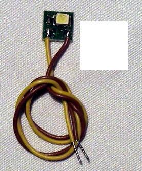 LED-Einzelbeleuchtung warmweiss, 1 LED, Anschluss an 12-16V  | günstig bestellen bei Weinert-Bauteile