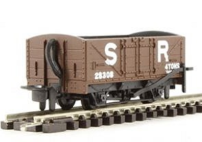 H0e Offener Güterwagen braun, 2-achsig- SR no.10 - Peco  - Fertigmodell  | günstig bestellen bei Weinert-Bauteile