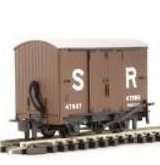 H0e Gedeckter Güterwagen braun, 2-achsig- SR no.47037 - Peco  - Fertigmodell  | günstig bestellen bei Weinert-Bauteile