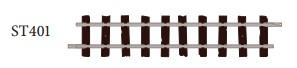 H0e Gleis gerade, L=87mm, 8 Stück - Peco ST401  | günstig bestellen bei Weinert-Bauteile