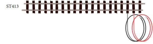 H0e Anschlussgleis gerade, L=174mm, 1 Stück - Peco ST413  | günstig bestellen bei Weinert-Bauteile