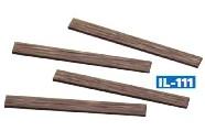 Mehr Details und Kaufen von Holzschwellen für den Gleisselbstbau, ca. 96 Stück - Peco  - Kunststoffausführung | günstig bestellen bei Weinert-Bauteile