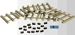 Mehr Details und Kaufen von Betonschwellen mit extra Schienenstühlchen, ca. 96 Stück - Peco  - Kunststoffausführung - ideal auch als Ladegut | günstig bestellen bei Weinert-Bauteile