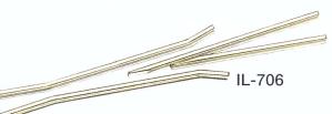 Spur 0 Code 124 Herzstückspitzen und Radlenker, Neusilberprofil 1 Set | günstig bestellen bei Weinert-Bauteile