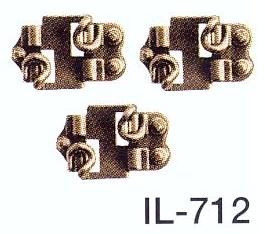 Mehr Details und Kaufen von Spur 0 Code 143 - Schienenstühlchen für den Gleisbau - Peco IL712 Beutel mit ca. 100 Stück | günstig bestellen bei Weinert-Bauteile