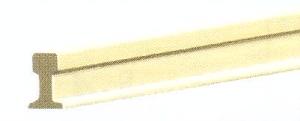 Mehr Details und Kaufen von IIm(G) Code 250 - Neusilber-Schienenprofil, Länge 914 mm - Peco 6 Stück | günstig bestellen bei Weinert-Bauteile