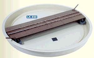 0e - Drehscheibe mit Grube - Peco Schmalspur  - Maße siehe Details   günstig bestellen bei Weinert-Bauteile