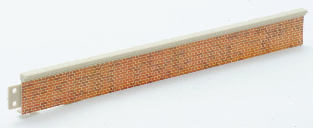 Bahnsteigkanten Ziegelstein, 5 Stück, H=1,9cm  - Peco LK60  - auch als Laderampe verwendbar   günstig bestellen bei Weinert-Bauteile
