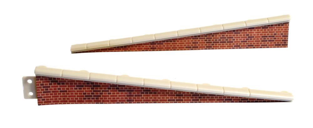 Rampe Ziegelstein, 2 Paar, L=113mm- Peco LK66  - auch als Laderampe verwendbar   günstig bestellen bei Weinert-Bauteile