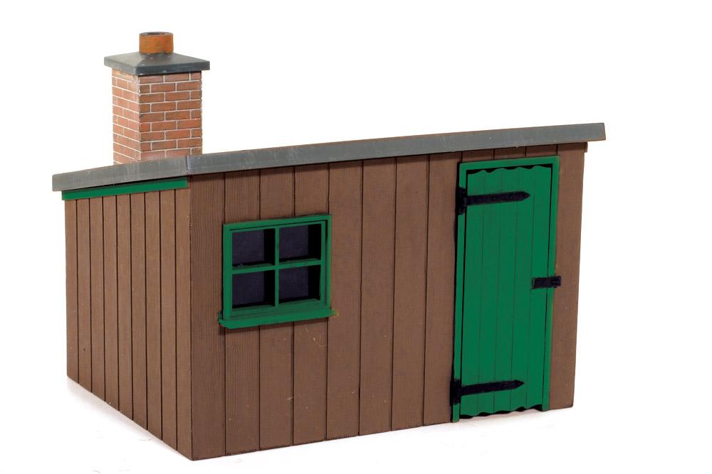 1:45 Hütte aus Holz - Peco LK704    günstig bestellen bei Weinert-Bauteile