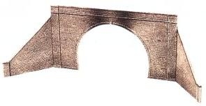 1:45 Tunnelportal mit Stützmauer zweigleisig - Peco LK732    günstig bestellen bei Weinert-Bauteile