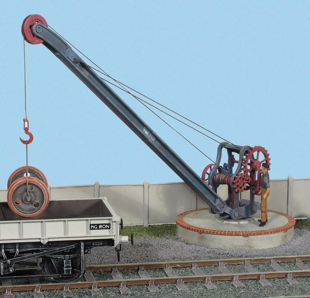 1:45 Ladekran - Peco LK735  - Bausatz   günstig bestellen bei Weinert-Bauteile
