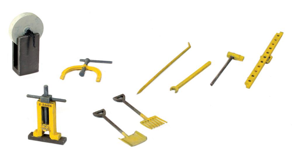 1:45 Werkzeug für Streckenarbeiten - Peco LK758    günstig bestellen bei Weinert-Bauteile