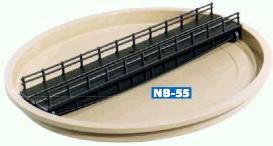 N Drehscheibe mit Grube, Handbetrieb - Peco Code 55 - NB55  - Maße siehe Details | günstig bestellen bei Weinert-Bauteile