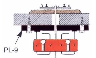 Weichenantrieb, mit langer Übertragungsstange- Peco PL10E mit PL9 als justierbarer Unteflurantrieb verwendbar   günstig bestellen bei Weinert-Bauteile