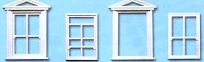 1:45 Fenster und Rahmen, 8 St. - Peco Kunststoff   günstig bestellen bei Weinert-Bauteile