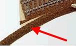 Mehr Details und Kaufen von H0m Böschung für Peco Gleisbettungen, L=50cm  | günstig bestellen bei Weinert-Bauteile