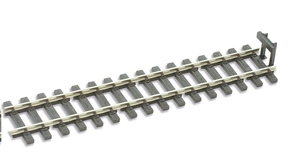 H0e + H0m Prellbock Holzbohlenausführung, 2 Stück - Peco SL 1440  | günstig bestellen bei Weinert-Bauteile