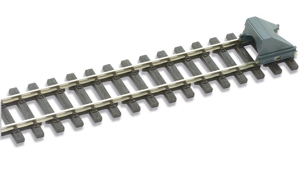 Mehr Details und Kaufen von H0m Prellbock Stahlkastenausführung, 2 Stück - Peco SL 1441  | günstig bestellen bei Weinert-Bauteile