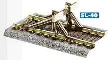 Prellbock aus Stahlprofilen zum Aufsetzen, Bausatz - Peco  - Kunststoff - passend zu Peco H0 Code 100 + Code 75 Gleisen | günstig bestellen bei Weinert-Bauteile