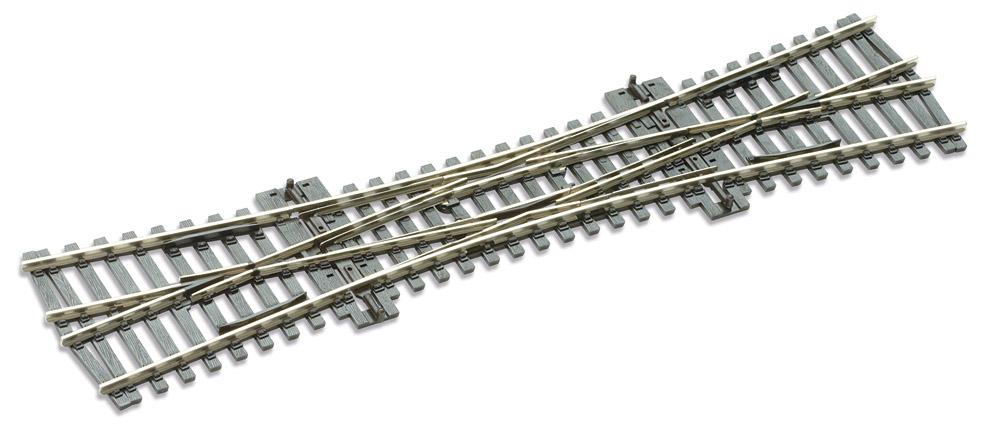 Mehr Details und Kaufen von H0 Code 100 DKW - Doppelte Kreuzungsweiche - Peco SL90  | günstig bestellen bei Weinert-Bauteile