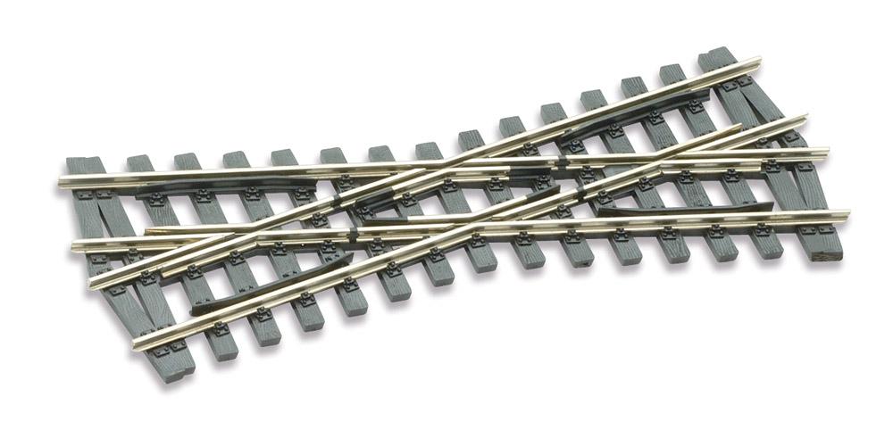 Mehr Details und Kaufen von H0m Kreuzung 20°, L=117mm - Peco SLE 1493 mit leitendem Herzstück | günstig bestellen bei Weinert-Bauteile