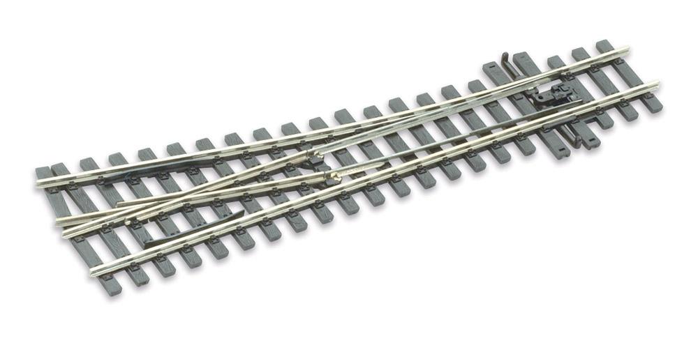 Mehr Details und Kaufen von H0m Weiche rechts 10°, L=160mm - Peco SLE 1495 mit leitendem Herzstück | günstig bestellen bei Weinert-Bauteile