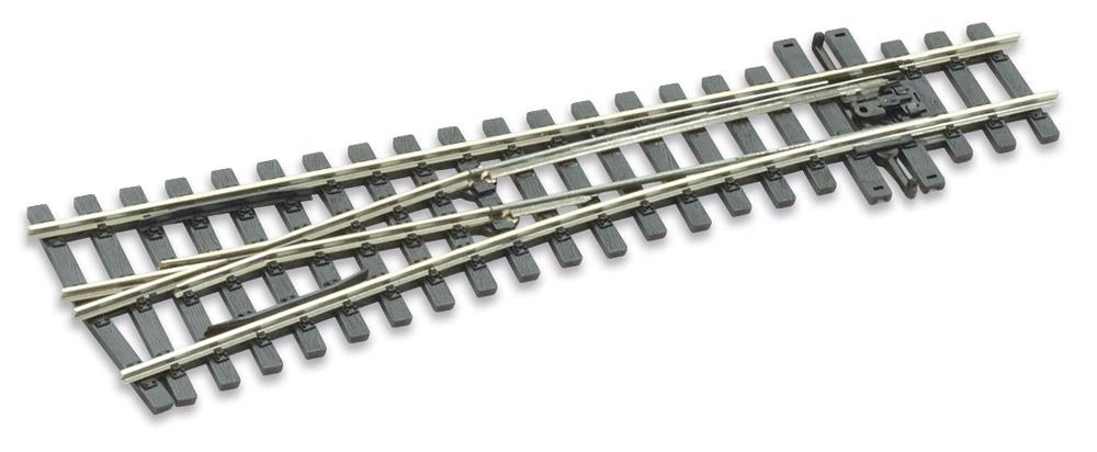 Mehr Details und Kaufen von H0m Weiche links 10°, L=160mm - Peco SLE 1496 mit leitendem Herzstück | günstig bestellen bei Weinert-Bauteile