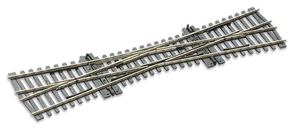 Mehr Details und Kaufen von H0 Code 75 EKW 12°, L=249mm - Peco SLE180 Einfache Kreuzungsweiche, R = 800mm | günstig bestellen bei Weinert-Bauteile