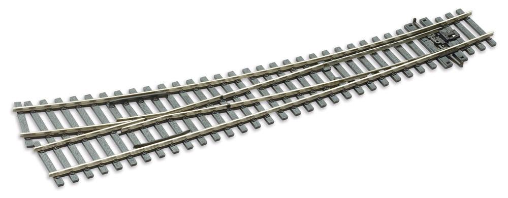 Mehr Details und Kaufen von H0 Code 75 Bogenweiche 12° rechts - Peco SLE186 Aussenradius = 1524mm, Innenradius = 762mm | günstig bestellen bei Weinert-Bauteile
