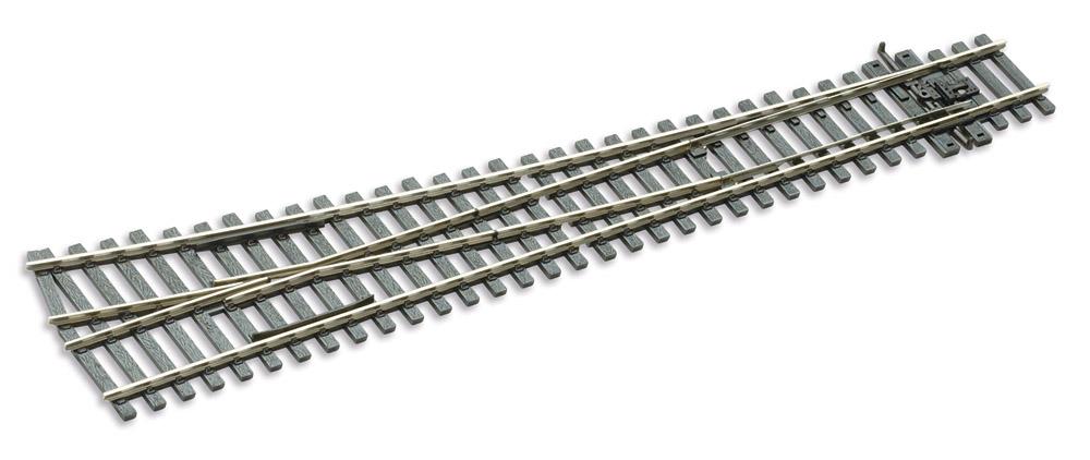 H0 Code 75 Weiche 12° rechts, L=258mm - Peco SLE188 Grosser Radius = 1524mm | günstig bestellen bei Weinert-Bauteile