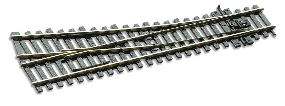 Mehr Details und Kaufen von H0 Code 75 Weiche 12° rechts, L=185mm - Peco SLE191 Kleiner Radius = 610mm | günstig bestellen bei Weinert-Bauteile