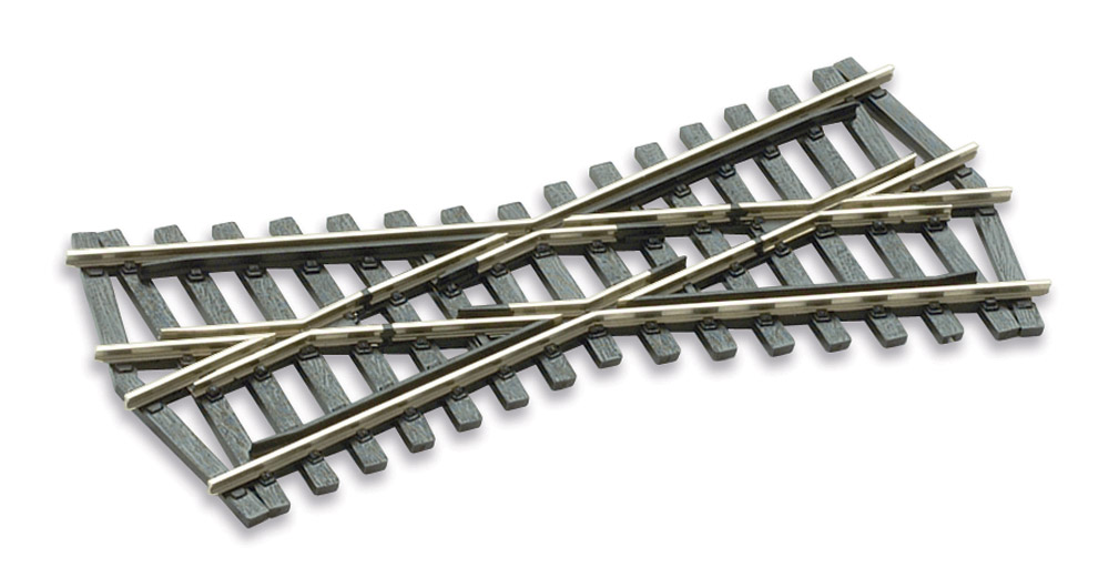Mehr Details und Kaufen von H0 Code 75 Kreuzung 24°, L=127mm - Peco SLE193  | günstig bestellen bei Weinert-Bauteile