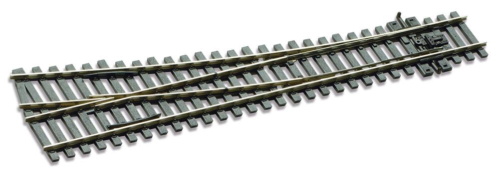 Mehr Details und Kaufen von H0 Code 75 Weiche 12° links, L=219mm - Peco SLE196 Mittlerer Radius = 914mm | günstig bestellen bei Weinert-Bauteile