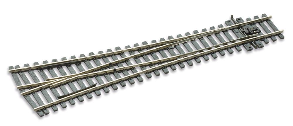 Mehr Details und Kaufen von H0 Code 75 Y-Weiche 12°, L=220mm - Peco SLE198 Grosser Radius = 1829mm | günstig bestellen bei Weinert-Bauteile