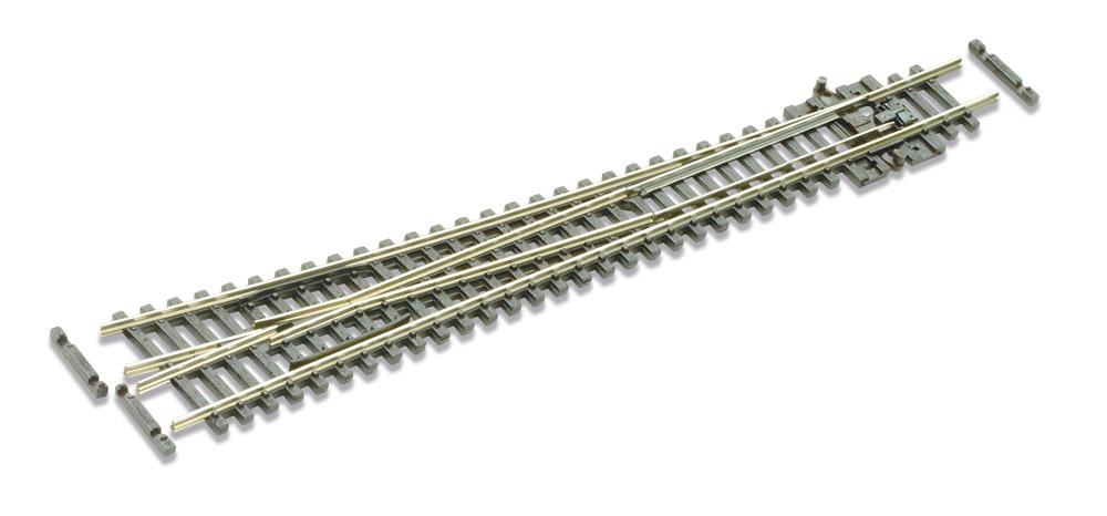 N Code 80 - 8° Weiche rechts, Länge 160 mm - Peco SLE388 Großer Radius 914 mm | günstig bestellen bei Weinert-Bauteile