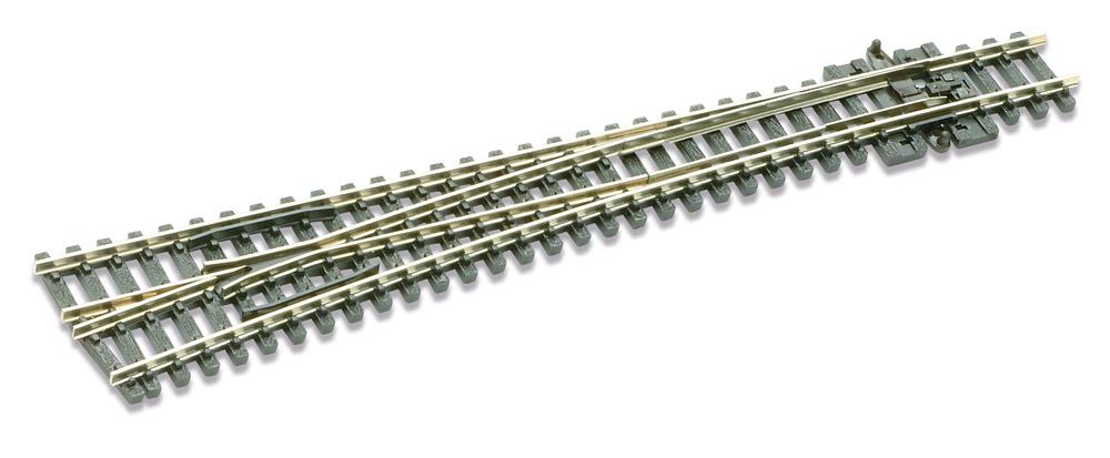 N Code 80 - 8° Weiche links, Länge 160 mm - Peco SLE 389 Großer Radius 914 mm | günstig bestellen bei Weinert-Bauteile