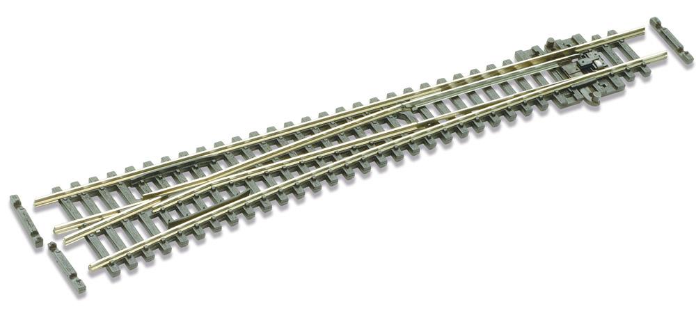 N Code 55 - 10° Weiche links, Länge 164 mm - Peco SLE389F Großer Radius 914 mm | günstig bestellen bei Weinert-Bauteile