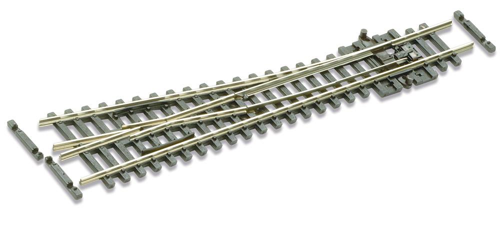 N Code 55 - 10° Weiche rechts, Länge 123 mm - Peco SLE391F Kleiner Radius 305 mm | günstig bestellen bei Weinert-Bauteile