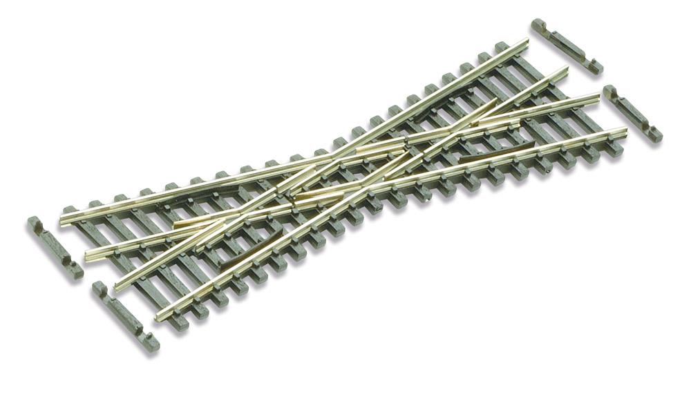 N Code 55 - 20° Kurze Kreuzung, Länge 103,7 mm - Peco SLE393F  | günstig bestellen bei Weinert-Bauteile