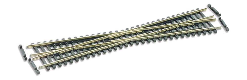 N Code 55 - 10° Kreuzung, Länge 154 mm - Peco SLE394F  | günstig bestellen bei Weinert-Bauteile