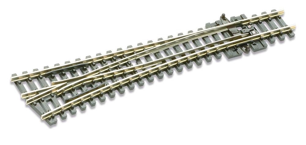 N Code 80 - 14° Weiche links, Länge 124 mm - Peco SLE396 Mittlerer Radius 457 mm | günstig bestellen bei Weinert-Bauteile