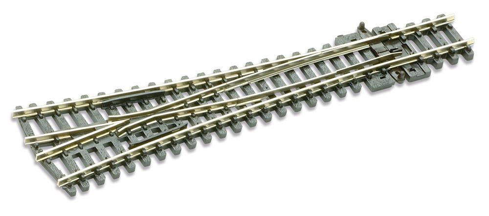 N Code 80 - 8° Y-Weiche, Länge 127 mm - Peco SLE397 Großer Radius 762 mm | günstig bestellen bei Weinert-Bauteile